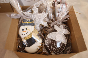 Adorable cookie ornaments from Jewels of New York