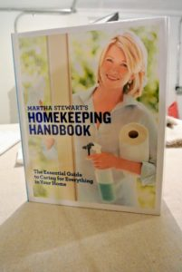 """Remember, there are lots of cleaning hints and tips in my """"Homekeeping Handbook"""" - it's a great source for all the spring cleaning jobs you're doing at home during this time. If you don't have a copy, order it today."""