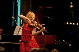 Daisy Jopling - Violinist - played 'Libertango.' - Photo Credit Nan Melville