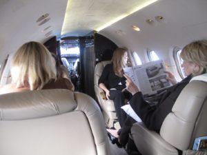 All settled in for the 36 minute flight to Philadelphia.