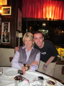Josh, another friendly waiter