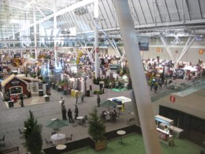 And the right third of the conference floor - This is, by far, the largest professional show I have ever attended.