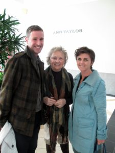 MSLO employees - William Van Roden - with his mother, Dee - and Ellen Morrissey - They happened to be in the area and decided to come to the book signing.  I was so happy to see them in Philadelphia, that I invited them to join us for lunch.