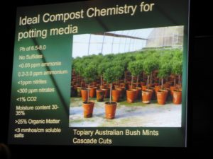 This is a really great photo, detailing the ideal requirements for perfect potting media.