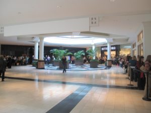 The line for the book signing was really long - it seemed to wrap around the entire mall!