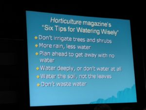 Informative water management tips put together by Horticulture Magazine http://www.hortmag.com/ for the home gardener and professionals alike.