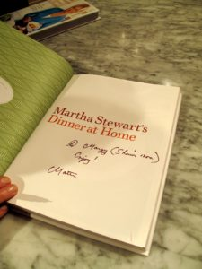 Margy's book - signed by me!