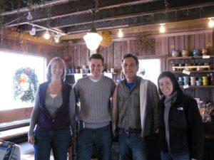Laurelynn Martin, Shaun Kass, Byron Martin and Shaun's wife Jen
