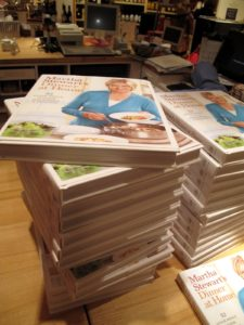 We sold over 600 books!  That means I signed over 600 books!