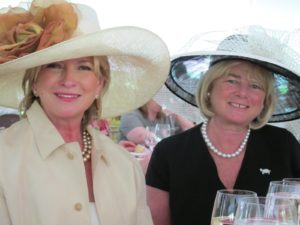 Jane Heller, who sits on the Board of the Central Park Conservancy, took a table at the fund raising luncheon.  She wore a Suzanne http://suzannemillinery.com/ hat and I wore a broad brimmed straw hat by Barbara Feinman.  http://www.feinmanhats.com/