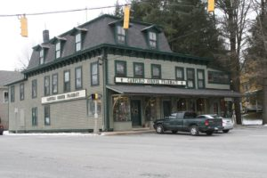 One of many historic buildings in Woodbury, the Canfield Corner Pharmacy is a quaint, family operated business.