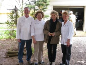 Here I am with the wonderful crew from Blackberry Patch Catering - Martin, Jackie, Jennifer  http://www.blackberrypatchcatering.com/1501.html