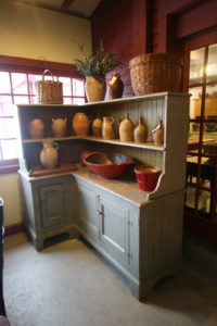 And also this corner pantry.