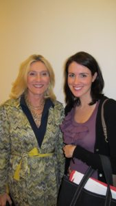 Susan Magrino, my publicist and Nicole Sutliff
