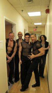 Some of the dancers from 'Chicago' the Broadway smash hit