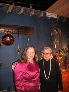 Eve Stone and her daughter, Susan (left) - experts in the field of culinary brass and copper.  http://www.evestoneantiques.com