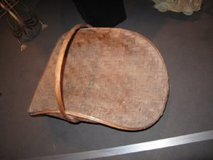 This is a very large and beautiful basket for cut flowers - it was recently discovered in Kentucky.