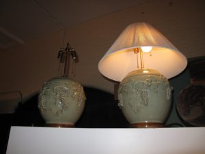 I did buy these celadon lamp bases - now I'll be looking for different shades - I plan on using them in my living room in Maine.