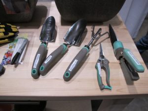 These are some of our garden tools.