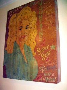 Dolly Parton artwork