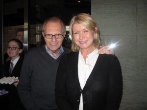 Larry King and me