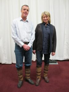 Terry McLaughlin gave me a brand new pair of Dubarry Boots.