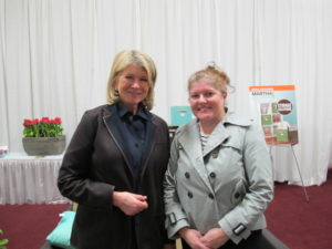 Here I am with Margot Austin - senior design editor of Style at Home magazine