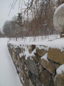 The snow looks beautiful everywhere.