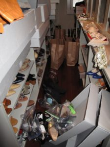 So many shoes - how did so many get here?