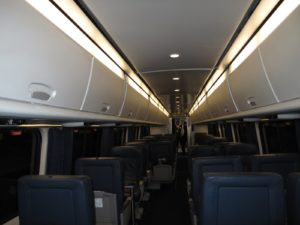 The train car was all ours.  It was Valentine's day and the Chinese New Year's Day and the day before President's Day -  so there were no commuters.