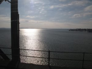 The views from the train were gorgeous.