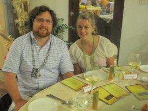 Our traveling companions - Zak and Jori