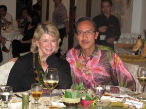 Here I am with Datuk Masidi Manjun - Minister of Tourism, Culture, and Environment Sabah.
