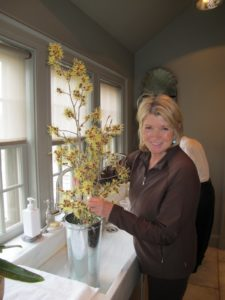 I was excited to host my new business partners, the Hallmark Channel, at the farm for a pre-Easter dinner.  I decorated the house as if it was Easter and in fact, this gave me the impetus to host Easter lunch at my house - I had been vacillating.