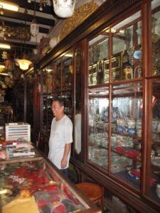 The store was filled with an amazing eclectic mix of objects.