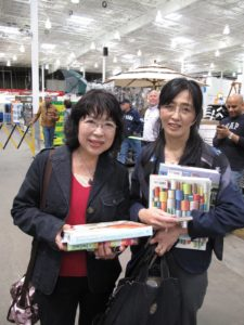 These ladies were visiting from Japan.
