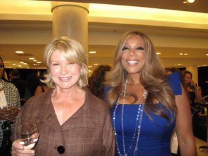 Here I am with talk show host, Wendy Williams.