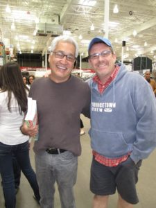 Joe Freitas and Chris Getman - They bought the MSLO 'project'   house in Norwalk and they love living there.