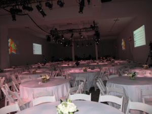 Several years ago, MSLO actually used this space for our holiday party - a very nice room.
