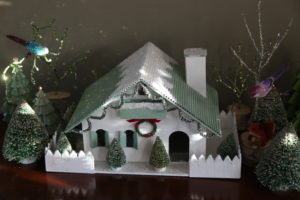 The little Grandinroad buildings are a great addition this year.