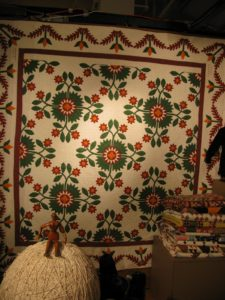 Stella Rubin - www.stellarubin.com - American Antique Quilts and Textiles; Silver and Gold Jewelry with a Specialty in Mexican Jewelry and Hollowware
