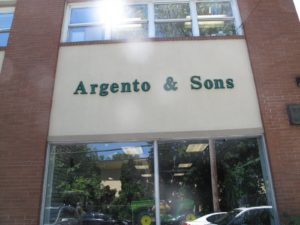 Meanwhile, Dominick, my equipment manager, went to White Plains, NY to Argento & Sons to pick up the new lawn mower.