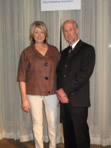 Here I am with Bob Allen - CEO of the Digital Marketing Association.