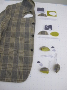 Another great idea for reuse - how-to for a mouse made from an old men's blazer.