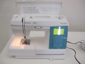 A Viking embroidery machine from The Quilters Alley in Ridgefield, CT