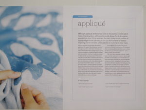 A comprehensive chapter on the technique of applique