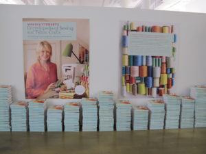 Everyone who came to Stitch Fest was given a copy of our new Encyclopedia of Sewing and Fabric Crafts.