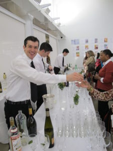 Our friendly bartenders serve refreshing cocktail with prosecco, St. Germaine and vodka.