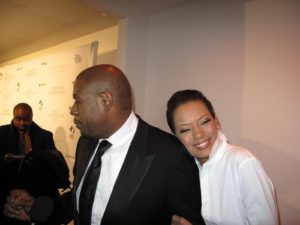 The talented Forrest Whitaker and his beautiful wife, Keisha.
