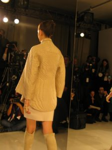 Again, the back tells the story - no one can work fabric and stitch like Ralph Rucci.
